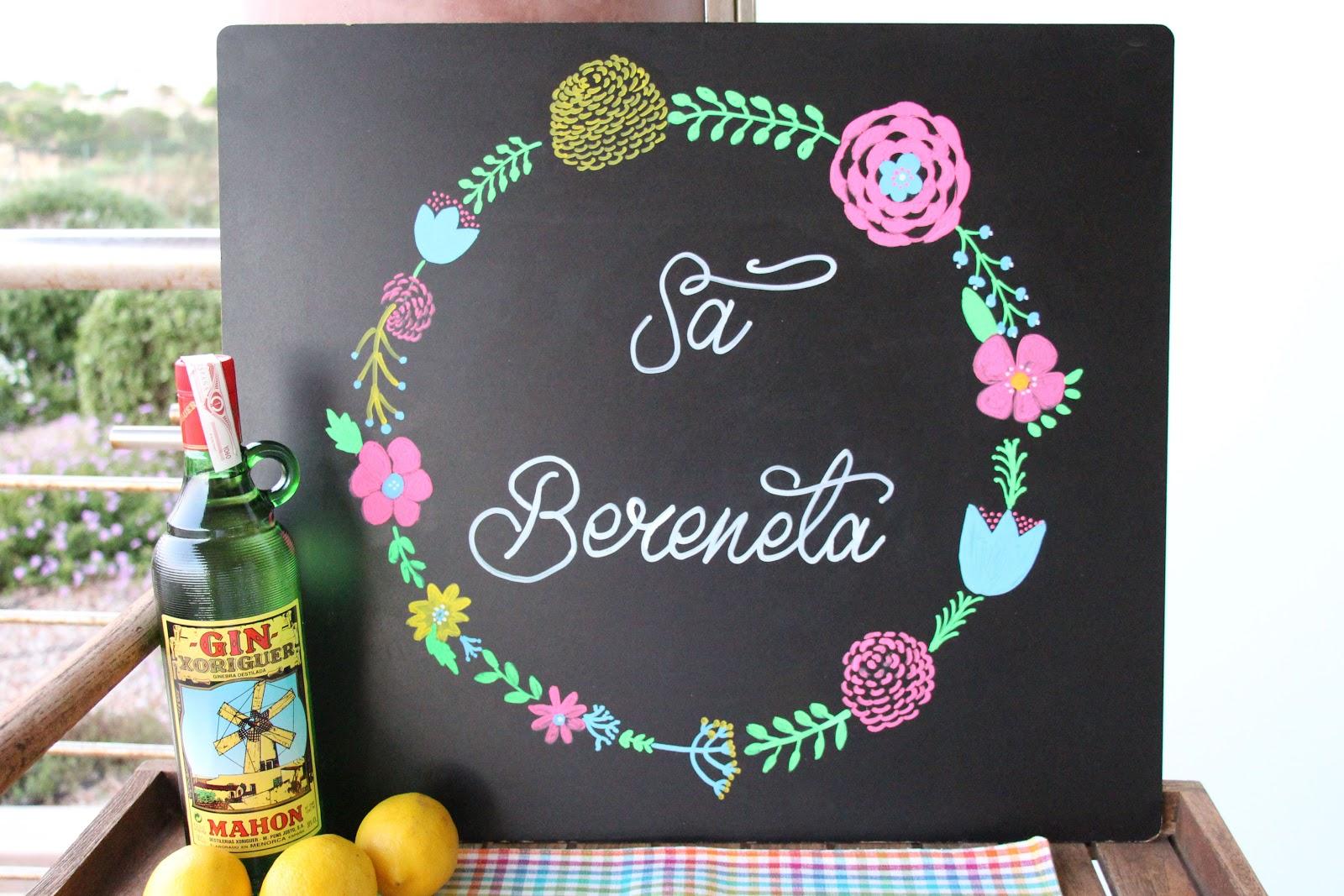 Mardefiesta letra bonita en una pizarra for Como decorar unas facil