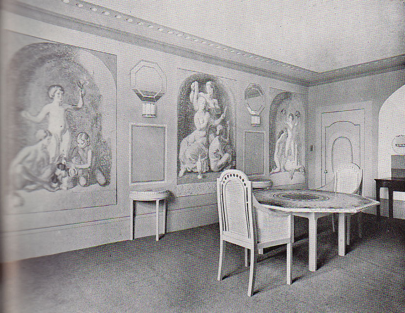Dorothy Wellesleyu0027s Dining Room 1930.