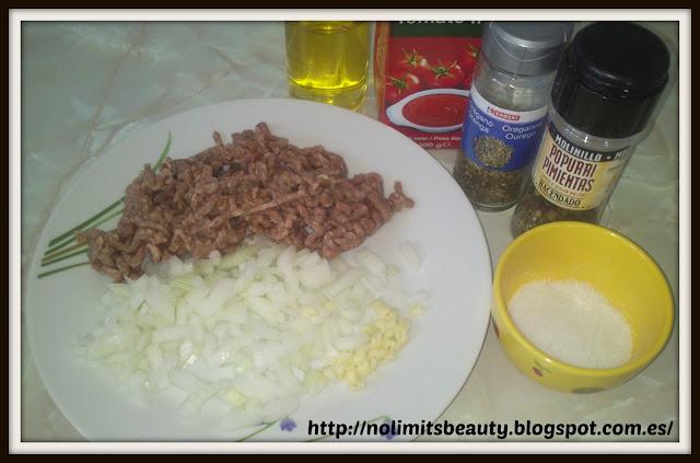 Salsa boloñesa: ingredientes