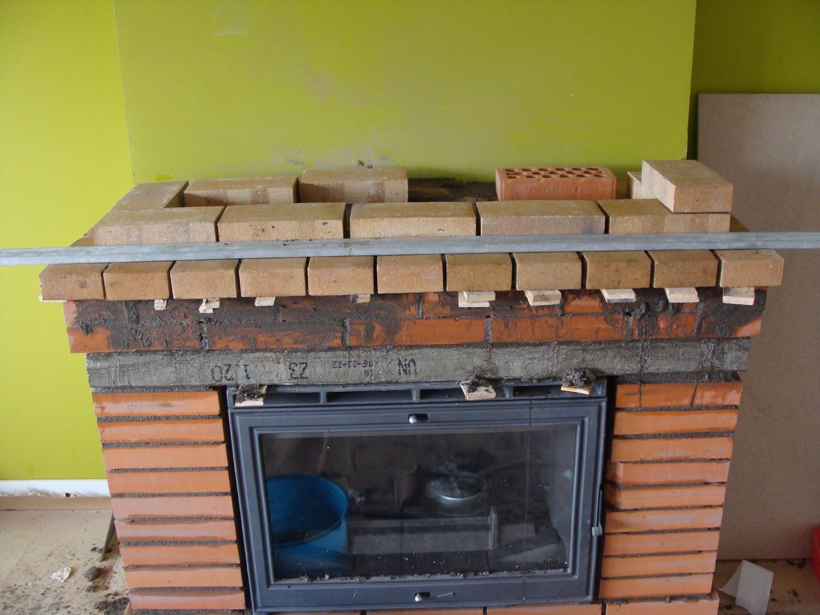 Andocarpinteando montaje de chimenea y reducci n de - Chimeneas de ladrillo visto ...