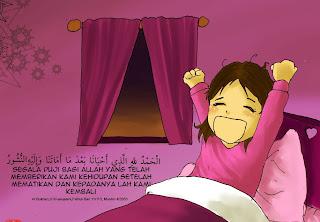 adab bangun tidur menurut islam