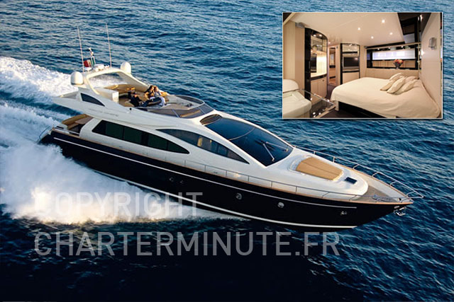 Luxury Crewed Charter on lengendary Riva 75 Venere - 2007 ...