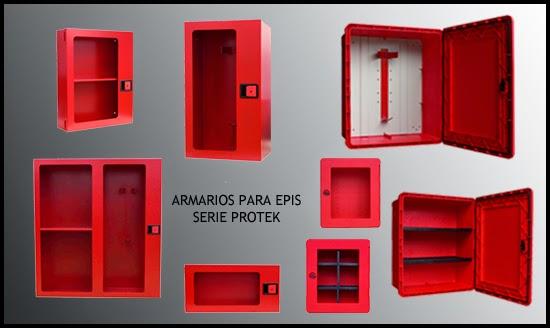 Armario para EPIS, equipos proteccion individual, equipo primera intervención