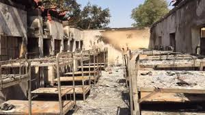Fire guts Kano school