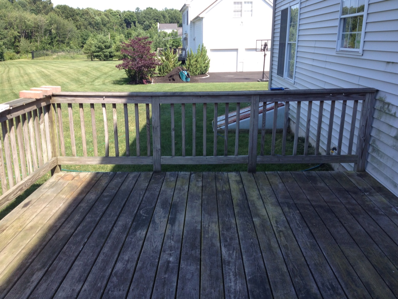 The ranga blog dirty decks done dirt cheap for Cheapest place for decking