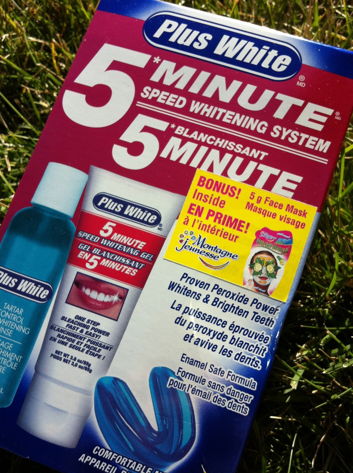 plus white 5 minute speed whitening system my blog spot