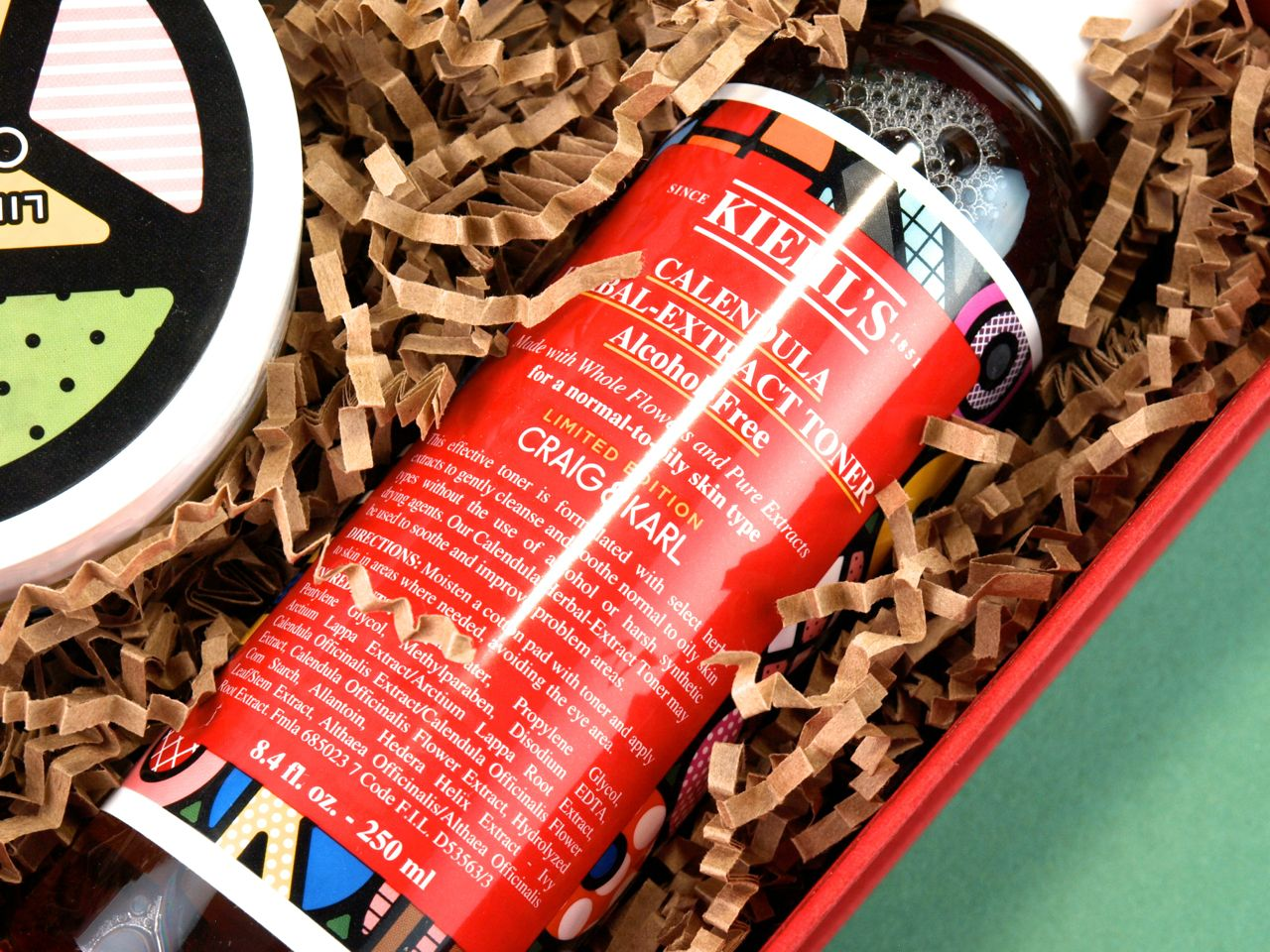 Kiehl's Holiday 2014 Craig x Karl Collection: Review