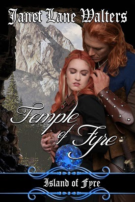 janet lane walters, temple of fyre, enchanted book promotions, fantasy romance