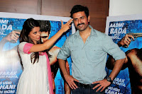 Star cast of Dishkiyaoon Ayesha and Harman Baweja celebrate Holi