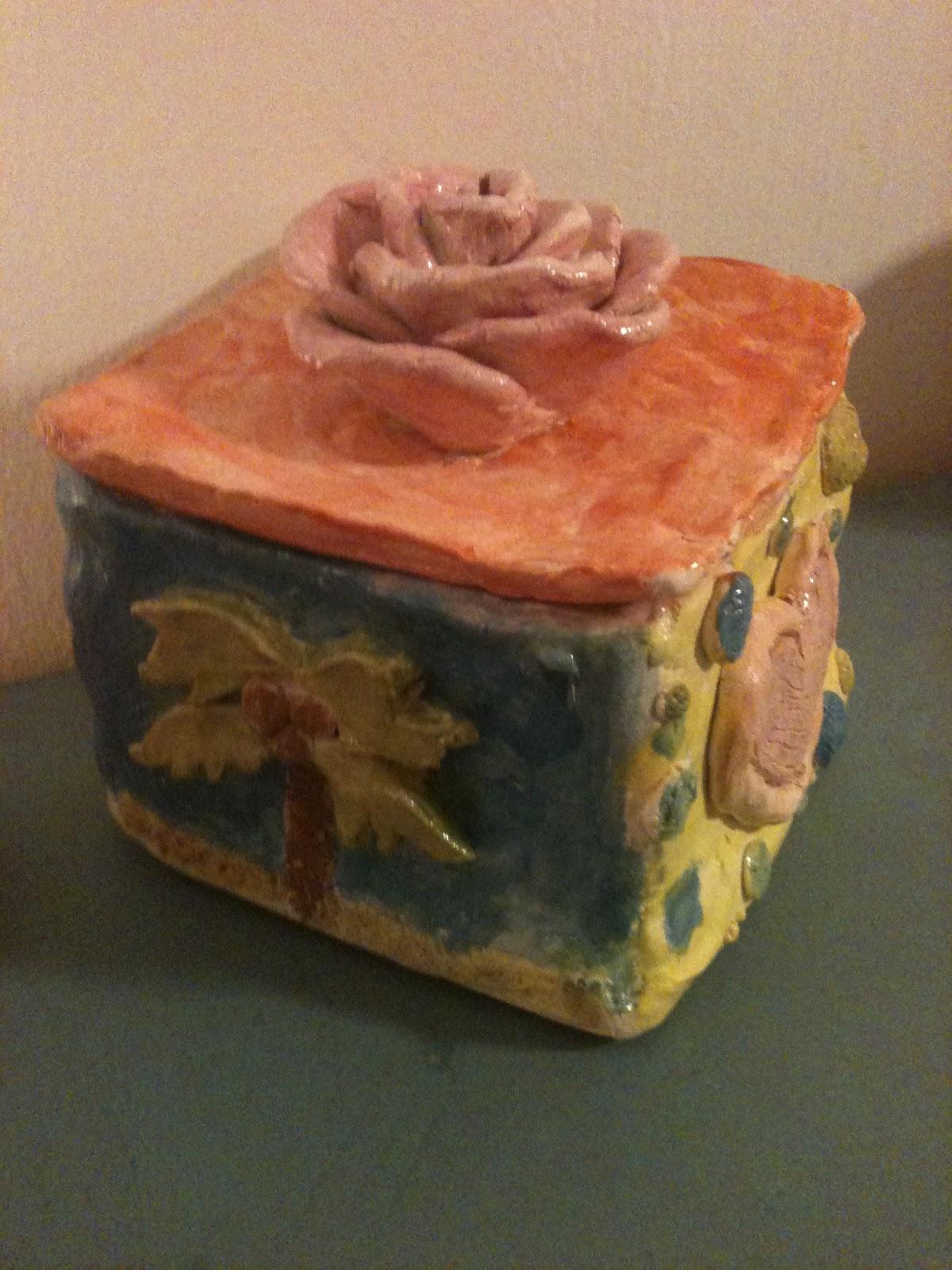 Rina S Ceramics Slab Box