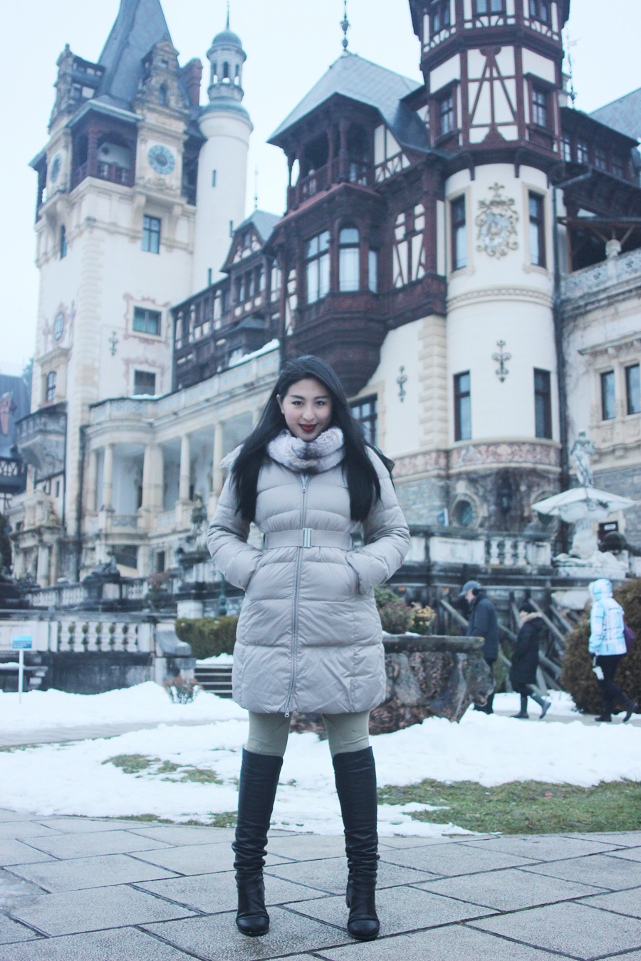 Peles Castle, Sinai, Romania - Posh, Broke, & Bored