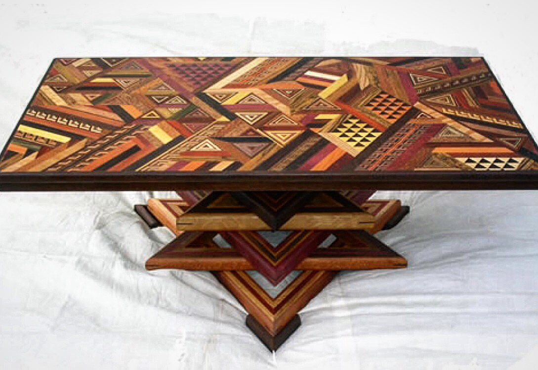 Parota dining table by ben wheatley tropical exotic hardwoods - Fun Fact After Failing High School Woodshop Terry Eventually Went On To Have Furniture Displayed In The Smithsonian The Louvre And In The Homes Of