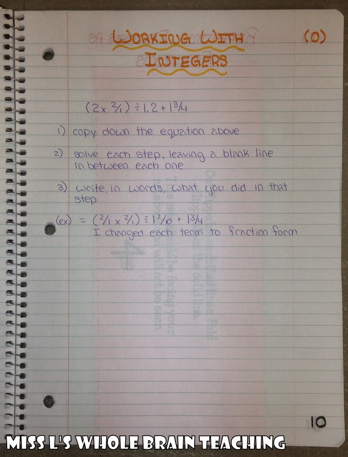 interactive notebook, INB, I.N.B, interactive notebook grade 8 math, INB in grade 8 math, how to start interactive notebooks