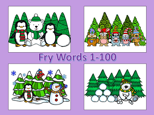 http://www.teacherspayteachers.com/Product/Winter-Spot-and-Jot-Fry-Words-1-100-1056229