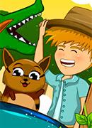 Кормим животных - Онлайн игра для девочек