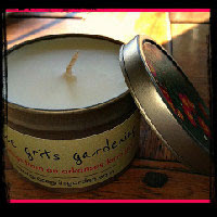 4 oz Soy-Blended Travel Tin Candle