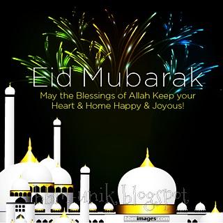 dp bbm ucapan eid mubarak