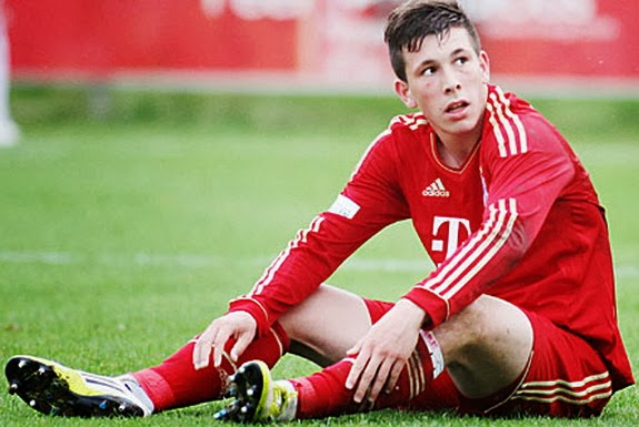 Danish youngster Pierre-Emile Højbjerg has endured a difficult time at Bayern Munich