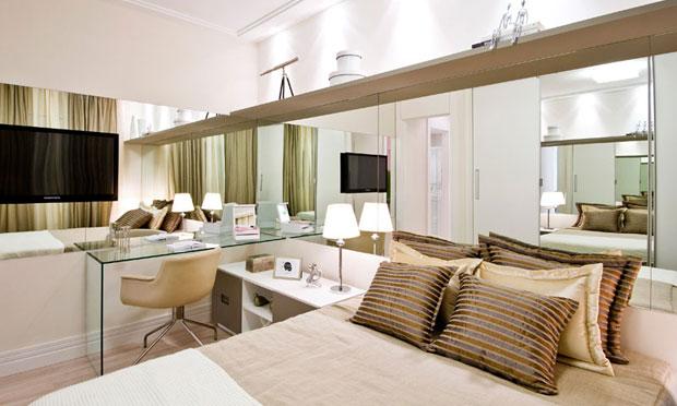Decor quarto de casal toque de eleg ncia for Dormitorio 3x5