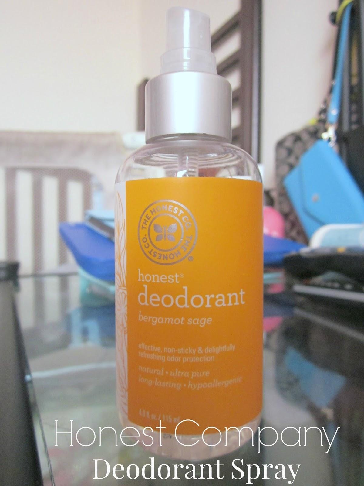 honest company deodorant