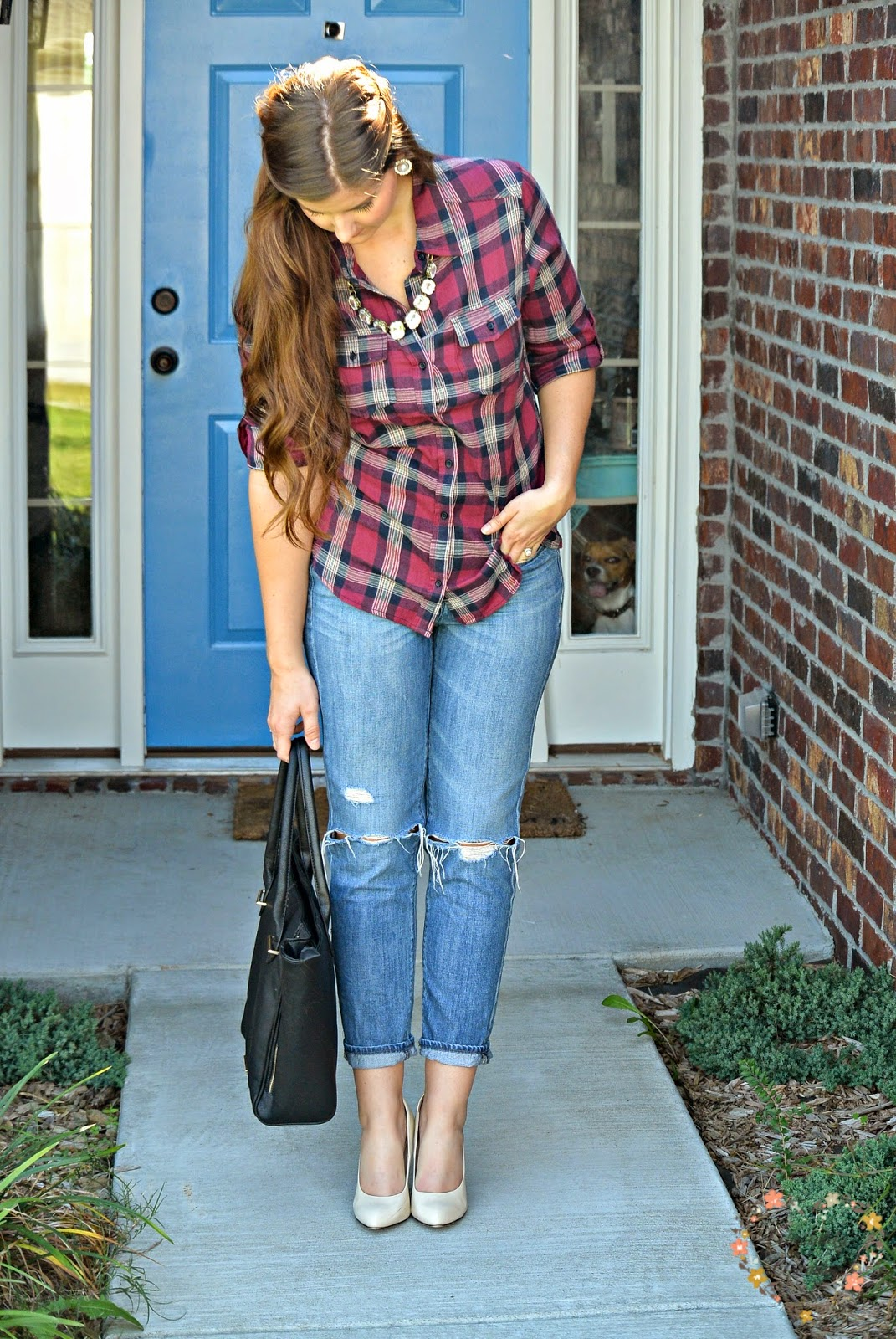 casual flannel