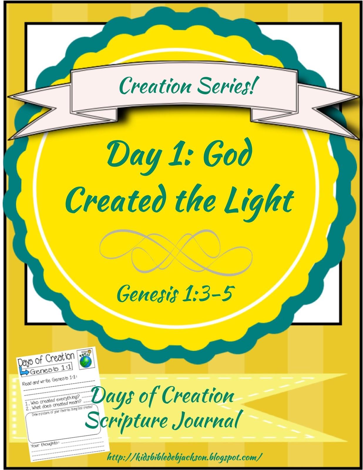 http://kidsbibledebjackson.blogspot.com/2015/01/the-creation-for-kids-day-1.html