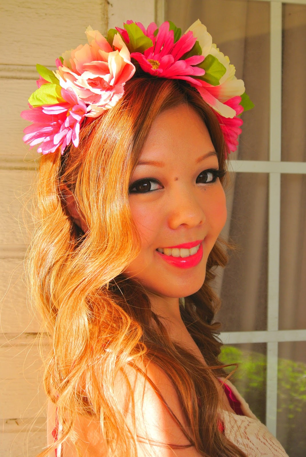 With Love Tiffany Tutorial DIY Flower Headband Crown