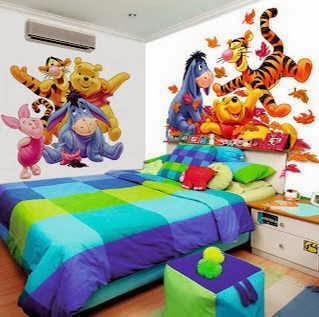 dekorasi desain kamar tidur anak laki laki rapi dan