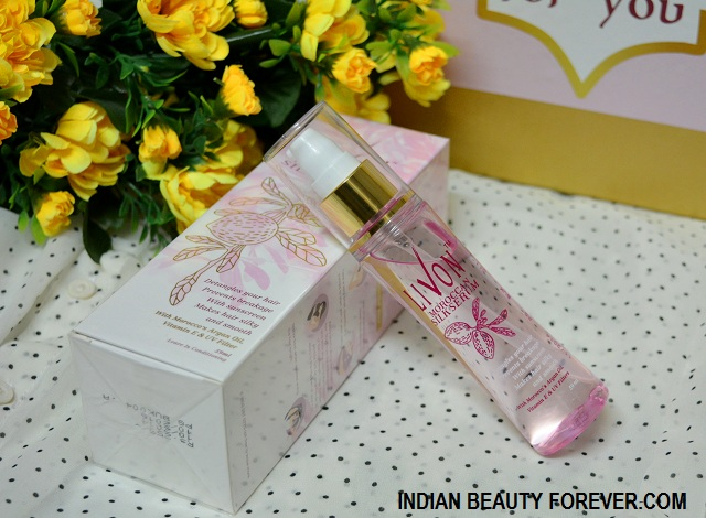 Livon Moroccan Silk Serum Review price and how to use