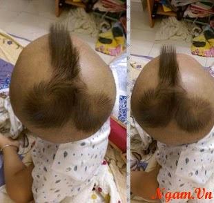 Quả tóc dành cho các bạn 2 xoáy =))