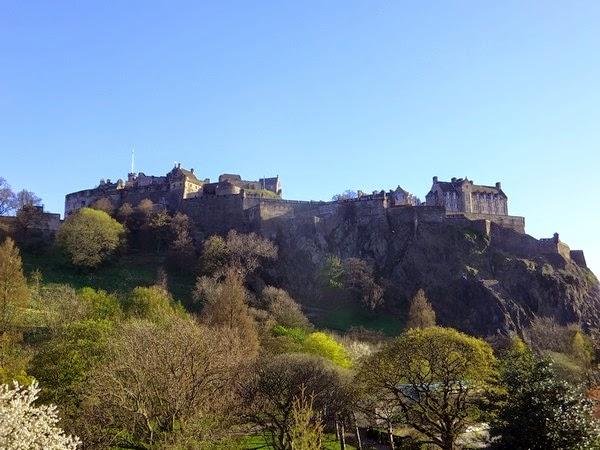 écosse scotland edimbourg castle château edinburgh