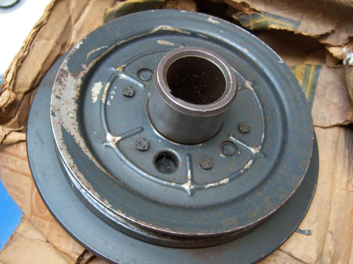 Chevrolet 235 261 Harmonic Balancer For Sale Nos Resto Rods To Go Chevy Wiring Hot Use The Contact Doug Link On Side Bar Give Me Your Number And I Will Call Thanks