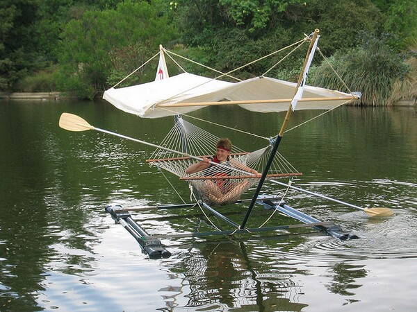 Hammock Boat Concept