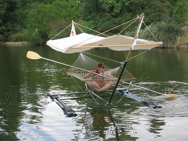 Hammock Boat Concept
