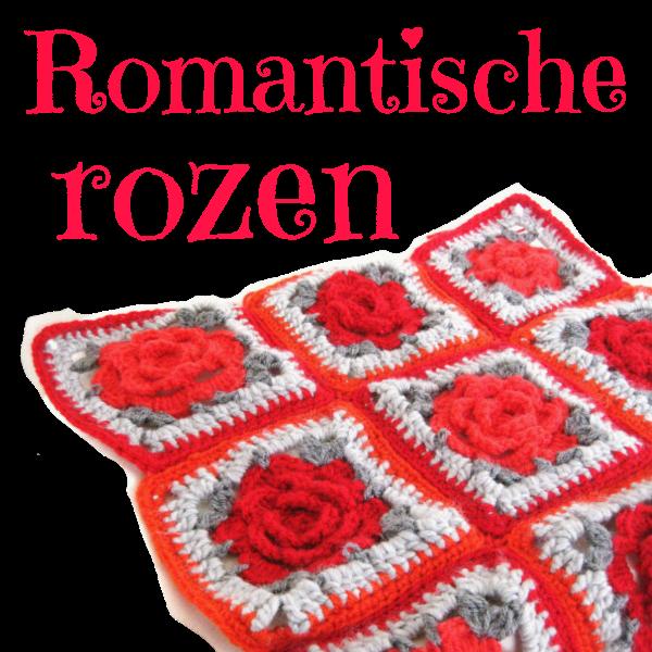 Granny met romantische rozen