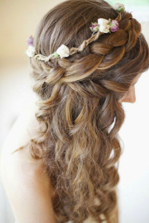 Coiffure mariage 2015 cheveux long