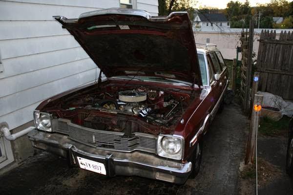 Daily Turismo: 5k: 5-Door Sleeper: 1977 Dodge Aspen Wagon
