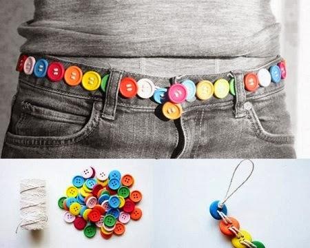 Como Hacer un Cinturon con Botones