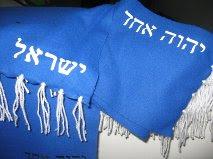 Bufanda Israel 154 x 20 ctms.