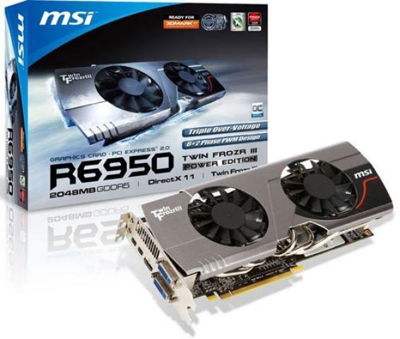 msi r6950