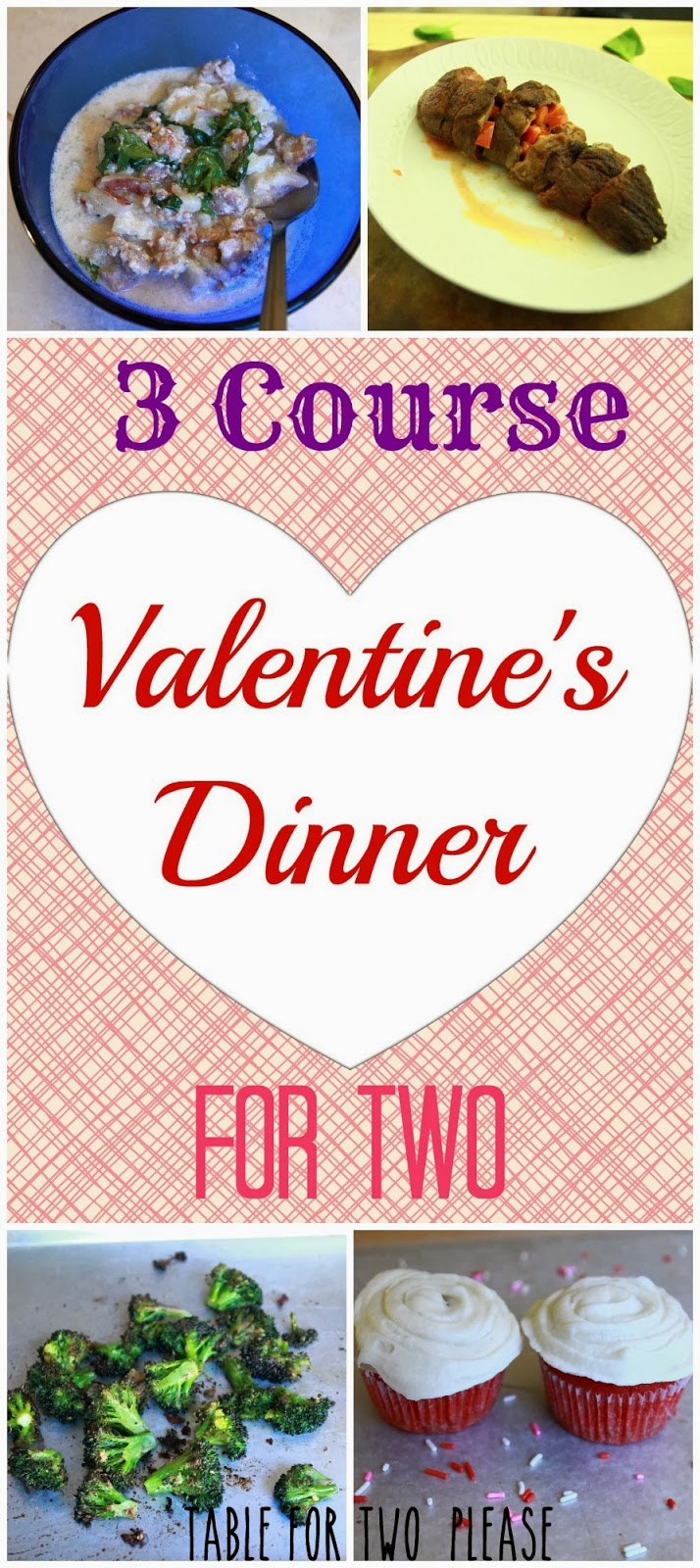 3 Course Valentine's Dinner For Two | Table for Two, please?