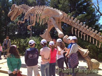 Experiencia dinosaurios de Faunia
