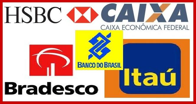Bancos que trabalho com trasferencia online: