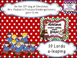 http://paytonspreciouskindergarteners.blogspot.com/2013/12/13-days-of-christmas.html