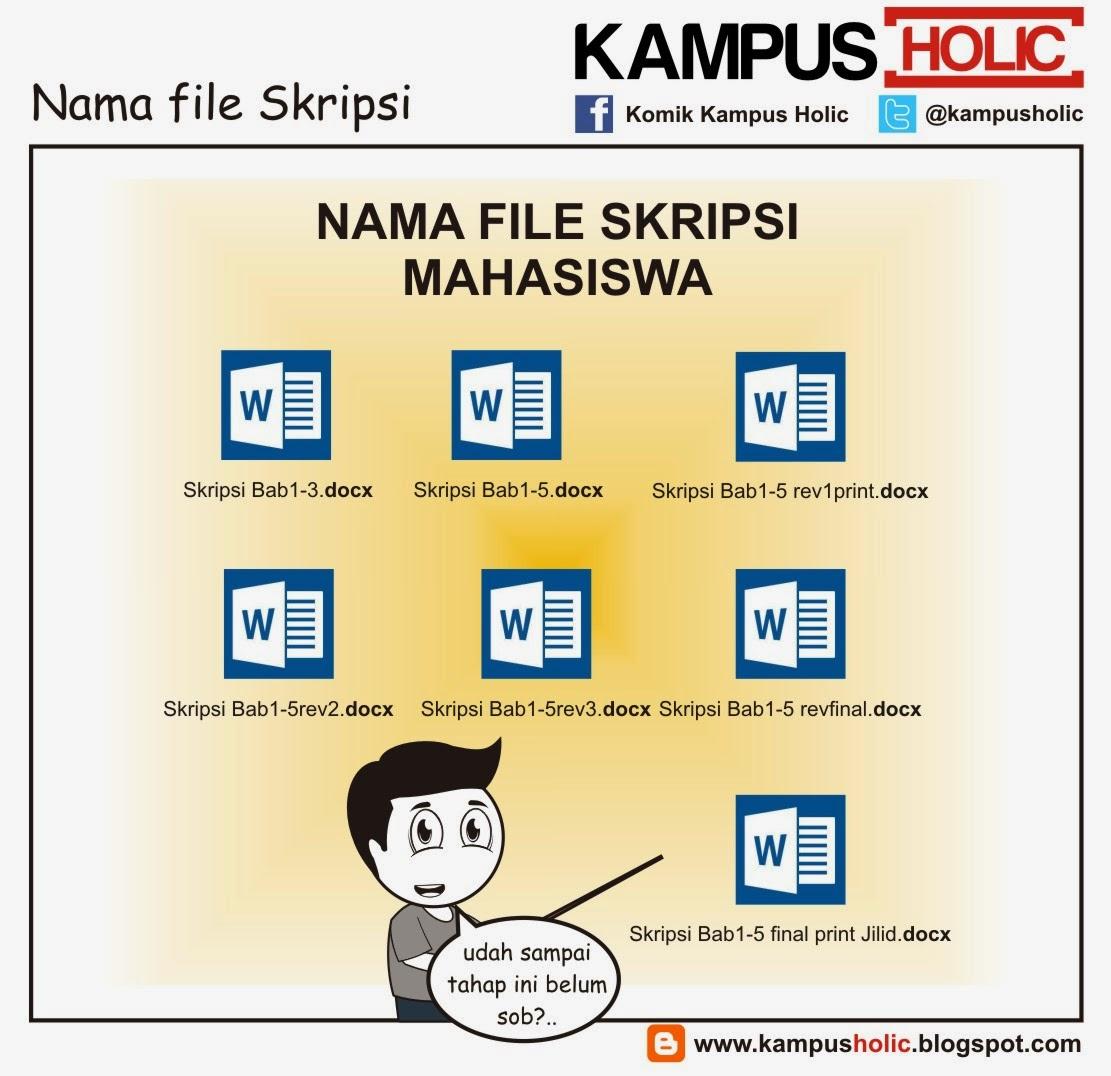 #846 Nama file Skripsi