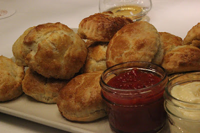 Biscuits and Red Pepper Jelly