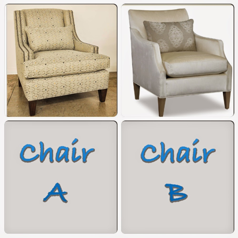 B: The Azriel Chair (this Chair Has Several Lookalikes, Including The Larkin  Chair From Bollard Designs)