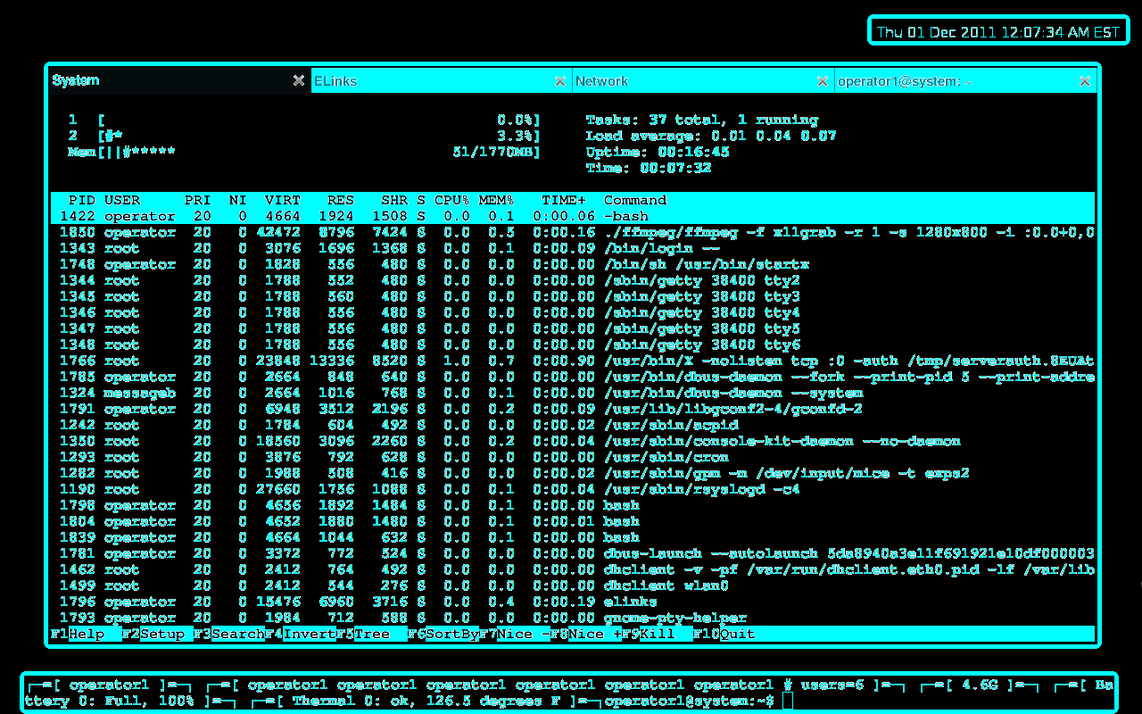how to use terminal to open tor ubuntu