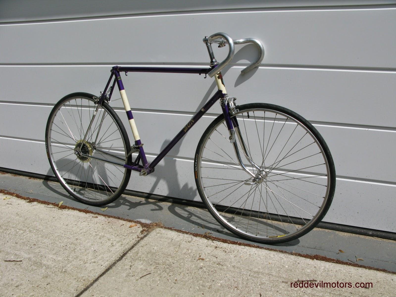 sun manxman vintage racing bicycle