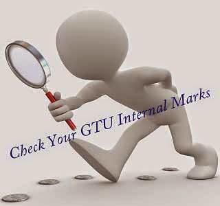 GTU Mid sem internal marks 2015
